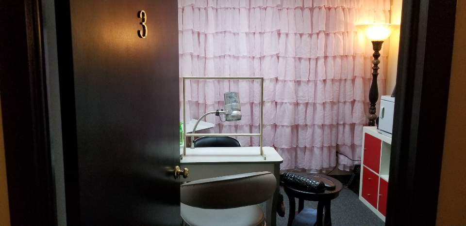Private room at Twinkling Nail